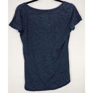 Hollister Tops - Hollister blue sheer t shirt tee medium
